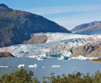 Mendenhall Glaciers in Alaska